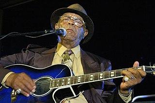 Robert Belfour American blues musician