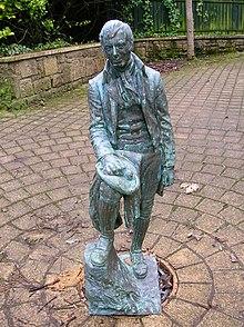Statua di Burns a Irvine