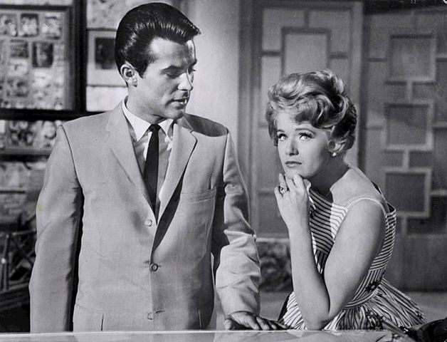 Robert Conrad Connie Stevens Hawaiian Eye 1961.JPG