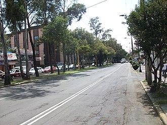 Eje vial - Eje 3 Norte Av. Alfredo Robles Domínguez.