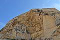 Roca sota el castell de santa Bàrbara, Alacant.JPG