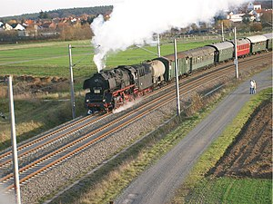 Rodgau Railway - Heritage train on the S1 in November 2006