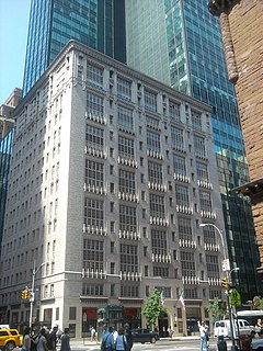 Rodin Studios Office building in Manhattan, New York
