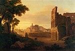 Rom, Kolosseum und Forum Romanum by Rudolf Wiegmann 1835.jpg