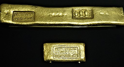 Roman Gold Bars, 375 AD - Bank of England Museum