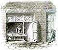 Roman shop. Reconstruction Middleton, The Remains of Ancient Rome 1892.jpg