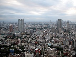 Roppongi Area from Tokyo Tower.jpg