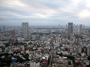Roppongi - View of the Roppongi area