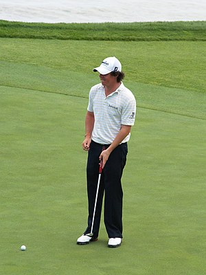 Rory McIlroy - McIlroy during a practice round of the 2010 PGA Championship.