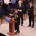 Rosa DeLauro at Barack Obama rally 2, February 4, 2008.jpg