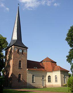 Church in Roskow in Brandenburg, Germany
