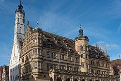 Rothenburg ob der Tauber, Marktplatz 1, Ansicht von Südwesten-20160108-001.jpg