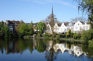 Kralingen Place in South Holland, Netherlands