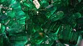Rough emerald crystals from Panjshir Valley Afghanistan.jpg