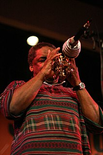 Roy Campbell Jr. American trumpeter