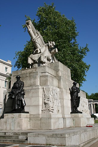 1925 in art - C.S. Jagger – Royal Artillery Memorial