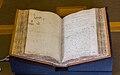Royal Society - Isaac Newton's Philosophiae Naturalis Principia Mathematica manuscript 1.jpg