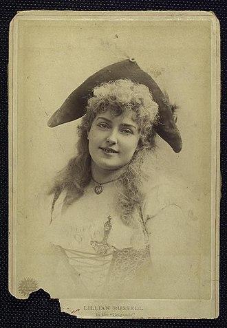 Les brigands - Lillian Russell as Fiorella