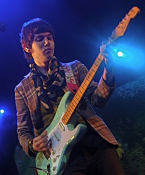 Ryan Ross - Ryan Ross performing with Panic! at the Disco at the Honda Civic Tour in Houston in 2008.