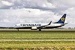 Ryanair Boeing 737-8AS, Schiphol (25885171563).jpg