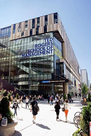 Ryerson University Entrepreneurship Program - Ryerson University's Ted Rogers School of Management