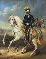 Ryttarporträtt av Kiörboe föreställande Karl XV, 1860 - Livrustkammaren - 5309.tif