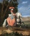 Ryttarporträtt på Madame La Duchesse de la Ferte, 1670-tal - Skoklosters slott - 100376.tif