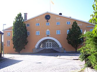 1917 in architecture - Image: Sölvesborg Listers härads tingshus