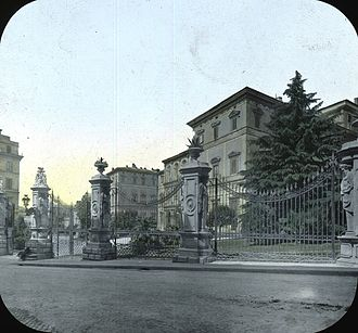 Palazzo Barberini - Palazzo Barberini, exterior. Brooklyn Museum Archives, Goodyear Archival Collection