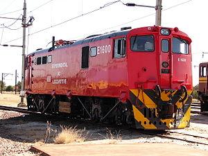 South African Class 6E1, Series 5 - Class Experimental AC no. E1600