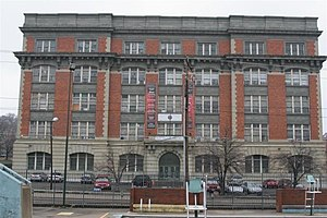 Woodward High School (Cincinnati, Ohio) - Front of the old building