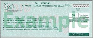 Farmers market coupons for seniors