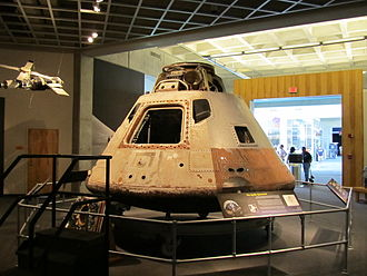 Great Lakes Science Center - The Skylab 3 Apollo Command Module is on display in the visitor center.