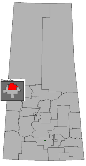Moose Jaw North - Image: SK 2016 Moose Jaw North