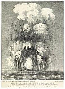 SMYTHE(1832) 25 THE NEW VOLCANIC ISLAND OF FERNANDEA, AS SEEN AT 6TH AUGUST 1831.jpg