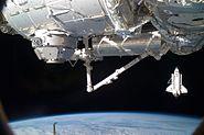 STS-130 Endeavour flyaround10