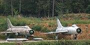 SU-7 and Su-17 side by side