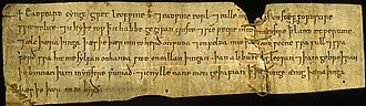 Anglo-Saxon charters - Writ of King Edward the Confessor granting land at Perton in Staffordshire to Westminster Abbey, 1062–1066