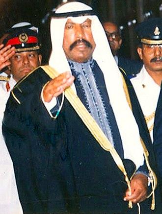 Saad Al-Salim Al-Sabah - Sheikh Saad in 1991