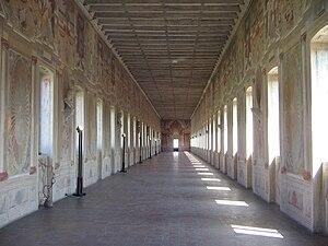 Galleria degli Antichi and Palazzo del Giardino - Interior of gallery