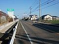 Saga prefectural road No 36 in Fukuyoshi, Shiroishi.jpg