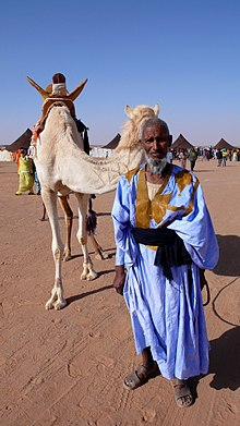 Description de l'image  Sahrawi&camel.jpg.