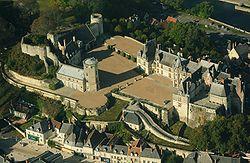 Saint-Aignan castle, aerial view.jpg