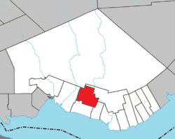Location within Bonaventure RCM.