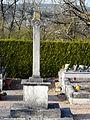 Saint-Victor (24) cimetière croix principale.JPG