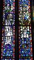 Saint Anthony of Padua Catholic Church (Dayton, Ohio) - stained glass, Sts. Ambrose & Augustine.JPG