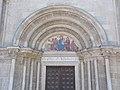 Saint James Church, west portal, Three Wise Men, 2017 Lébény.jpg