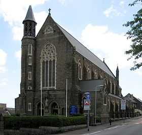 Image illustrative de l'article Cathédrale Saint-Joseph de Swansea