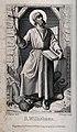 Saint William. Engraving by F. Dinger after A. Mü Wellcome V0033150.jpg