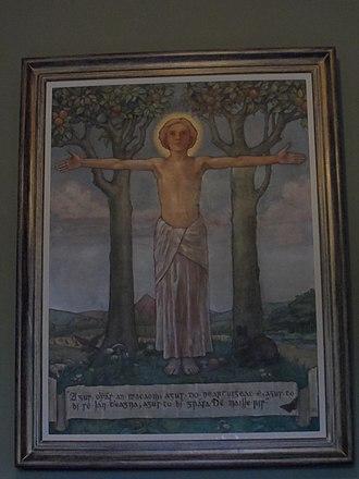 St. Enda's School - Painting in St. Enda's